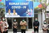 Ratusan santri jalani pemeriksaan kesehatan di Rumah Sehat COVID-19 Palembang