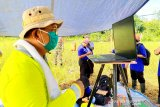 Hasil panen padi Bartim dilaporkan ke Kementan RI