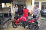 Curi motor polisi, pelaku ditangkap Tim Puma Polres Lotim saat dorong motor
