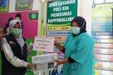 ACT Sulsel salurkan APD bagi tenaga medis di sejumlah Puskesmas