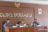 Pengawasan pintu masuk ke Kabupaten Minahasa diperketat