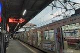 Kereta terakhir dari Stasiun Tanah Abang dengan tujuan Bogor sepi penumpang