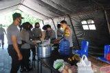Polres Palu bangun dapur umum untuk bantu masyarakat terdampak COVID-19