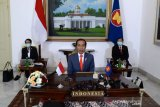 Jokowi: 3 negara mitra ASEAN jadi kunci atasi COVID-19
