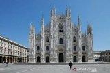 Andrea Bocelli menggema dari Katedral Milan yang kosong