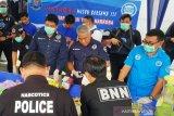 BNN Sumsel musnahkan barang bukti 35 Kg sabu-sabu