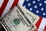 Dolar AS jatuh ke terendah dua minggu