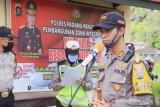 Polres Padang Panjang laksanakan patroli skala besar