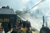 Polres Keerom tangani kebakaran hanguskan dua rumah di Arso Barat