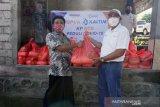 Pupuk Kaltim membantu warga terdampak COVID-19 di Lombok