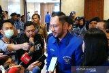 Pertemuan tertutup AHY dengan Pengurus DPP Golkar