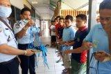 Warga binaan Lapas di Sulawesi Barat diberdayakan produksi masker