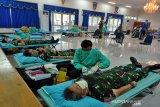 Lanud Adi Soemarmo dukung PMI  siapkan stok darah