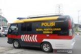 Tim Ditbinmas Polda Sumsel keliling Kota Palembang sosialisasi bahaya COVID-19