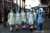 20 marinir Prancis masih dirawat akibat wabah corona di kapal induk