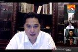 Menteri BUMN Erick Thohir ajak para milenial terus berinovasi digital di tengah COVID-19