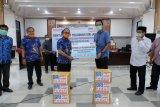 Pemkab Gowa terima bantuan APD dari BRI Cabang Sungguminasa