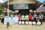 PT Unggul Lestari bantu penanganan COVID-19 di Telaga Antang dan Antang Kalang