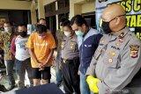 Polisi lumpuhkan residivis dengan timah panas