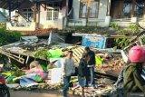 Truk hantam truk, 4 orang meninggal dunia diduga rem blong