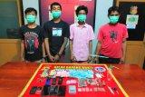 Tukang ojek dan 3 pelajar pengedar sabu dan ganja di Bima diringkus polisi