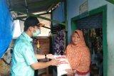 Bantuan beras dari Pemkot Bandarlampung mulai disalurkan ke warga