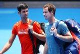 Bintang tenis Djokovic dan Murray berbagi pengalaman pertandingan di Instagram