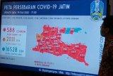 Pasien positif terjangkit virus corona di Jatim 588 orang, bertambah 33 orang