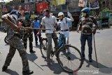 Ratusan polisi India positif terinfeksi virus corona