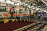 Okupansi penumpang kereta jarak jauh Daop 6 Yogyakarta tinggal 10 persen