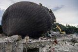 Pembongkaran masjid Agung Darussalam Palu