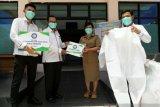BPJAMSOSTEK  bantu APD bagi tenaga medis RSUD Undata Palu