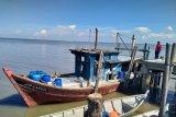 Satpolair Polres Bengkalis amankan satu kapal pukat harimau asal Malaysia