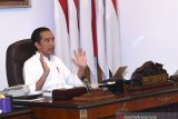 President Jokowi bans