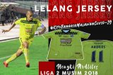 Semen Padang FC auction player jersey  to help the medical team in W Sumatra