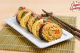 Resep dan cara masak nasi goreng sushi