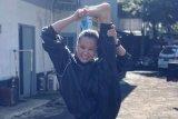 Petarung putri Indonesia Priscilla nilai PSBB sadarkan masyarakat akan kebersihan dan kebugaran