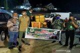 BKSDA Sulawesi Tenggara sita tujuh dos kima kering dari Wakatobi