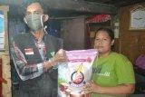 Dompet Dhuafa bagikan 256 paket sembako ke warga tak mampu Sumatera Selatan