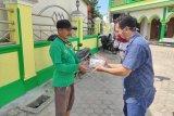 IJTI Lampung bagikan masker ke sejumlah masjid di Bandarlampung