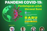 Pandemi COVID-19 pembelajaran untuk merawat bumi