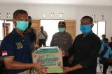 Polda Papua berikan sembako kepada atlet asal Kabupaten Supiori