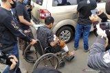 Polisi tembak mati seorang pelaku begal melarikan diri di Bandung