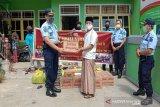 Narapidana Lapas Muara Teweh beri bantuan hasil pertanian ke panti asuhan