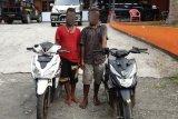 Polresta Jayapura tangkap dua pemuda penadah motor curian