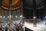 Masjid Istiqlal belum selenggarakan Shalat Jumat