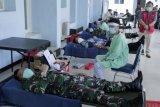 Lanudsri Manado gelar donor darah peringati HUT Ke-74 TNI AU