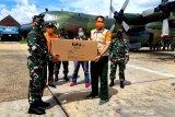3.100 APD didistribusikan ke Kalteng melalui jalur udara