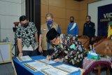 Bupati Inhil resmikan empat pasar secara daring