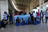 Pertamina-Hiswana Migas  salurkan ratusan paket sembako di Palu